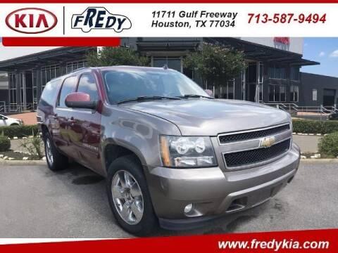 2008 Chevrolet Suburban for sale at FREDY KIA USED CARS in Houston TX