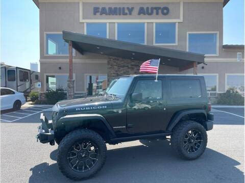 2008 Jeep Wrangler for sale at Moses Lake Family Auto Center in Moses Lake WA