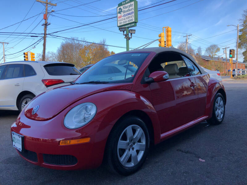 2007 Volkswagen New Beetle Convertible 2.5 PZEV 2dr Convertible (2.5L I5 6A) - North Weymouth MA