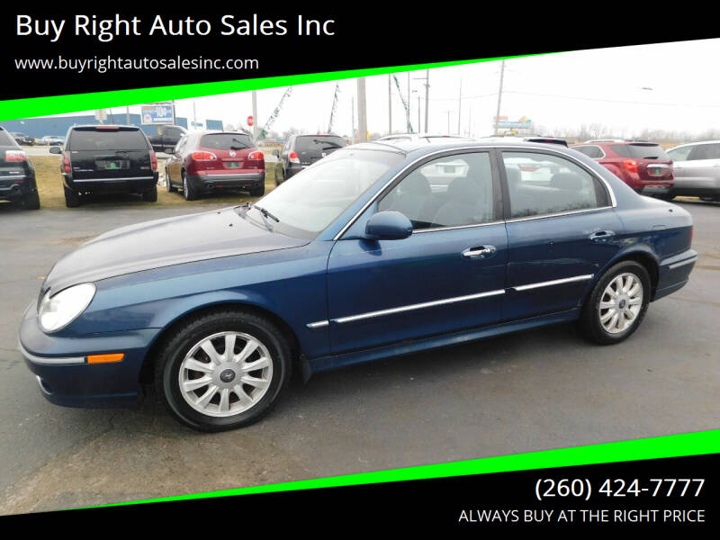 2003 Hyundai Sonata for sale at Buy Right Auto Sales Inc in Fort Wayne IN