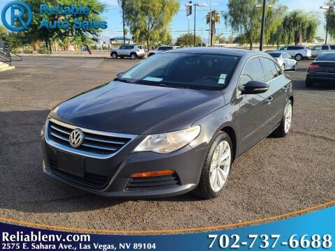 2012 Volkswagen CC for sale at Reliable Auto Sales in Las Vegas NV