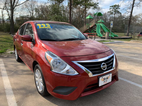 2016 Nissan Versa for sale at B & M Car Co in Conroe TX