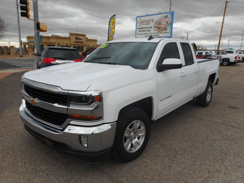 2018 Chevrolet Silverado 1500 for sale at AUGE'S SALES AND SERVICE in Belen NM