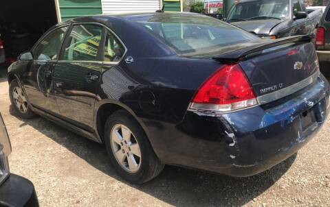 2009 Chevrolet Impala for sale at GREENLIGHT AUTO SALES in Akron OH