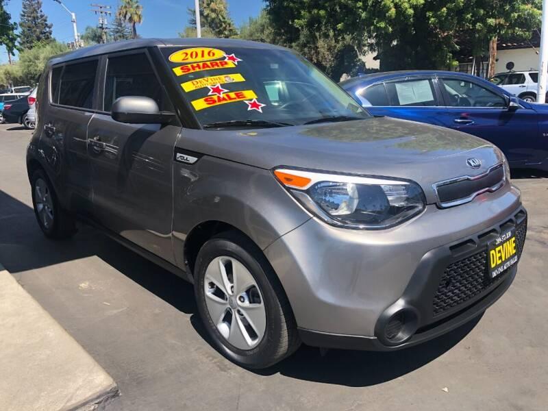 2016 Kia Soul for sale at Devine Auto Sales in Modesto CA