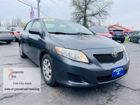 2009 Toyota Corolla for sale at Transportation Center Of Western New York in Niagara Falls NY