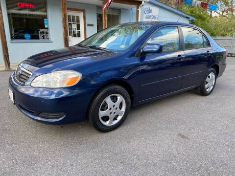 2008 Toyota Corolla for sale at Elite Auto Sales Inc in Front Royal VA