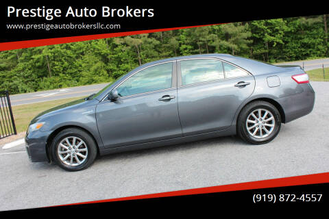 2011 Toyota Camry Hybrid for sale at Prestige Auto Brokers in Raleigh NC