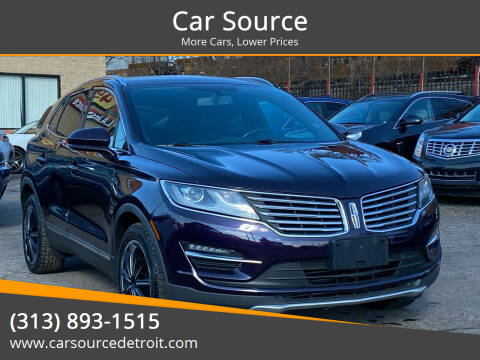 2015 Lincoln MKC for sale at Car Source in Detroit MI