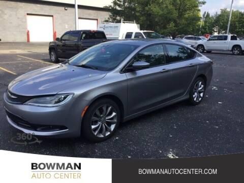 2015 Chrysler 200 for sale at Bowman Auto Center in Clarkston MI