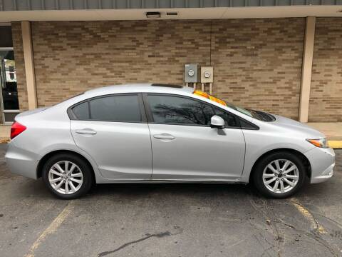 2012 Honda Civic for sale at Arandas Auto Sales in Milwaukee WI