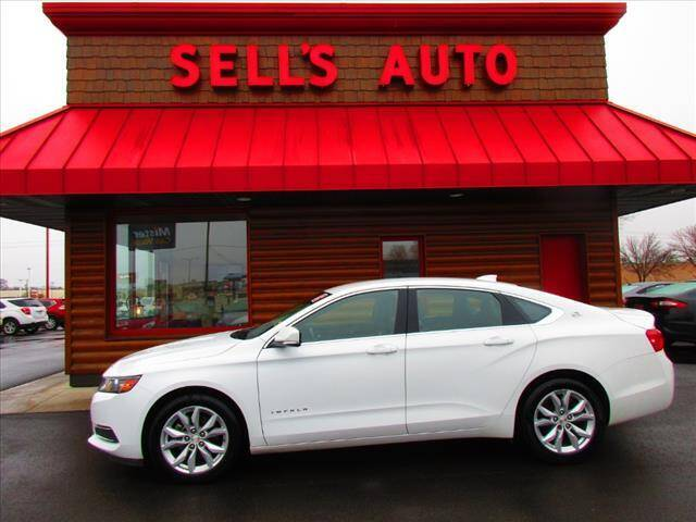 2017 Chevrolet Impala for sale at Sells Auto INC in Saint Cloud MN