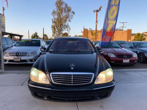 2001 Mercedes-Benz S-Class for sale at Paykan Auto Sales Inc in San Diego CA