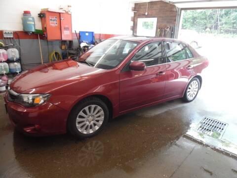 2010 Subaru Impreza for sale at East Barre Auto Sales, LLC in East Barre VT
