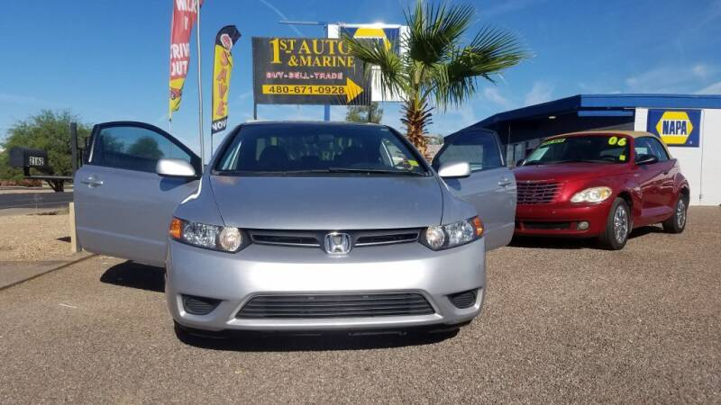 2008 Honda Civic for sale at 1ST AUTO & MARINE in Apache Junction AZ