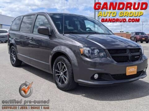 2018 Dodge Grand Caravan for sale at Gandrud Dodge in Green Bay WI