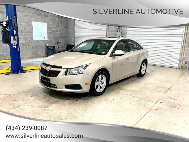 2011 Chevrolet Cruze for sale at Silverline Automotive in Lynchburg VA