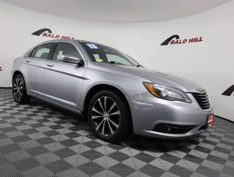 2013 Chrysler 200 for sale at Bald Hill Kia in Warwick RI