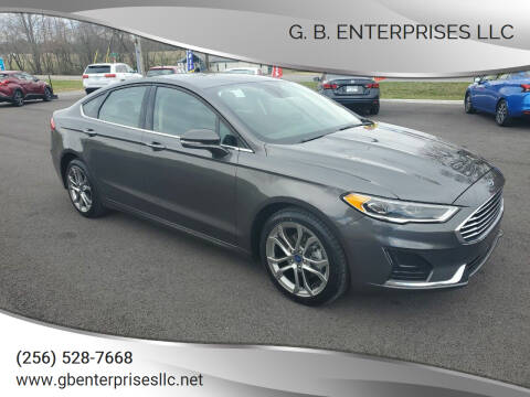 2020 Ford Fusion for sale at G. B. ENTERPRISES LLC in Crossville AL