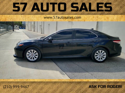 2019 Toyota Camry for sale at 57 Auto Sales in San Antonio TX