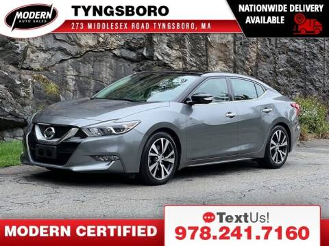 2016 Nissan Maxima for sale at Modern Auto Sales in Tyngsboro MA
