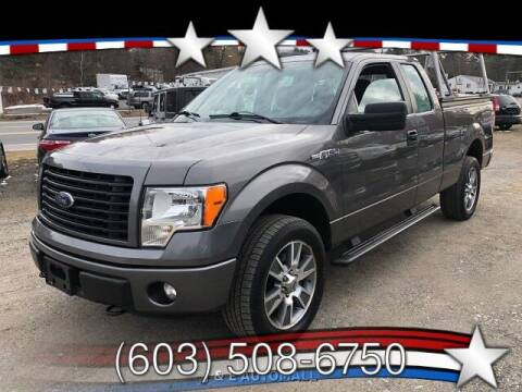 2014 Ford F-150 for sale at J & E AUTOMALL in Pelham NH