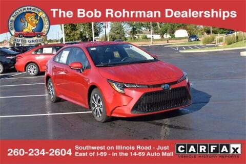2021 Toyota Corolla Hybrid for sale at BOB ROHRMAN FORT WAYNE TOYOTA in Fort Wayne IN