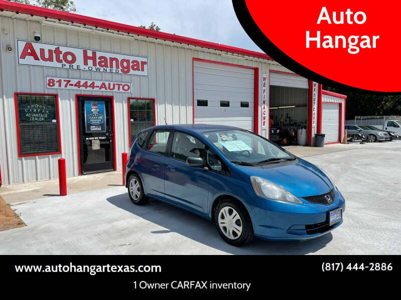 2009 Honda Fit for sale at Auto Hangar in Azle TX