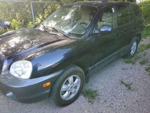 2005 Hyundai Santa Fe for sale at Straightforward Auto Sales in Omaha NE