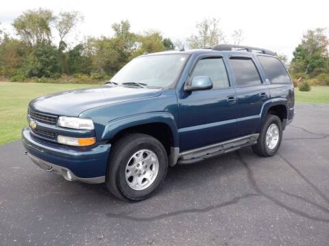 2005 Chevrolet Tahoe for sale at MIKES AUTO CENTER in Lexington OH