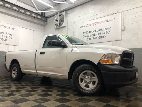 2012 RAM Ram Pickup 1500 for sale at County Car Credit in Cleveland OH