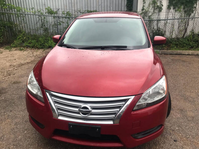 2014 Nissan Sentra for sale at 4 Girls Auto Sales in Houston TX