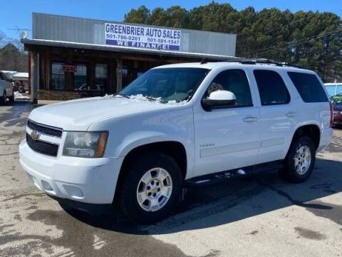 2010 Chevrolet Tahoe for sale at Greenbrier Auto Sales in Greenbrier AR