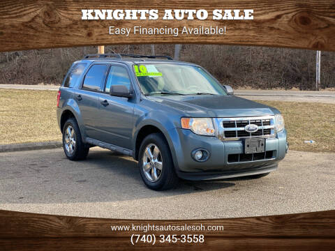 2010 Ford Escape for sale at Knights Auto Sale in Newark OH