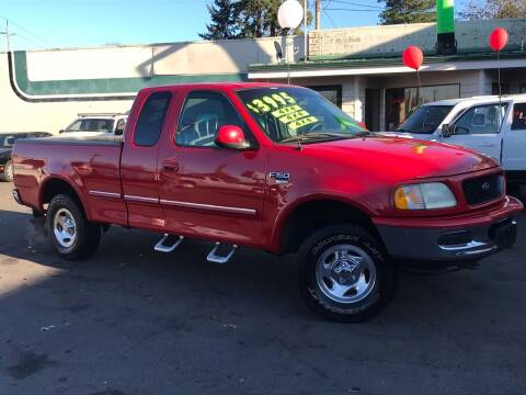 1998 Ford F-150 for sale at Salem Auto Market in Salem OR