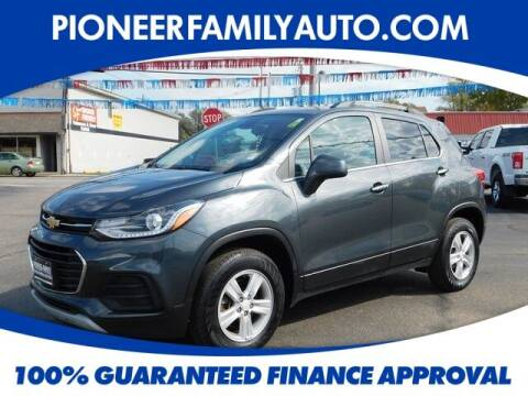 2017 Chevrolet Trax for sale at Pioneer Family auto in Marietta OH