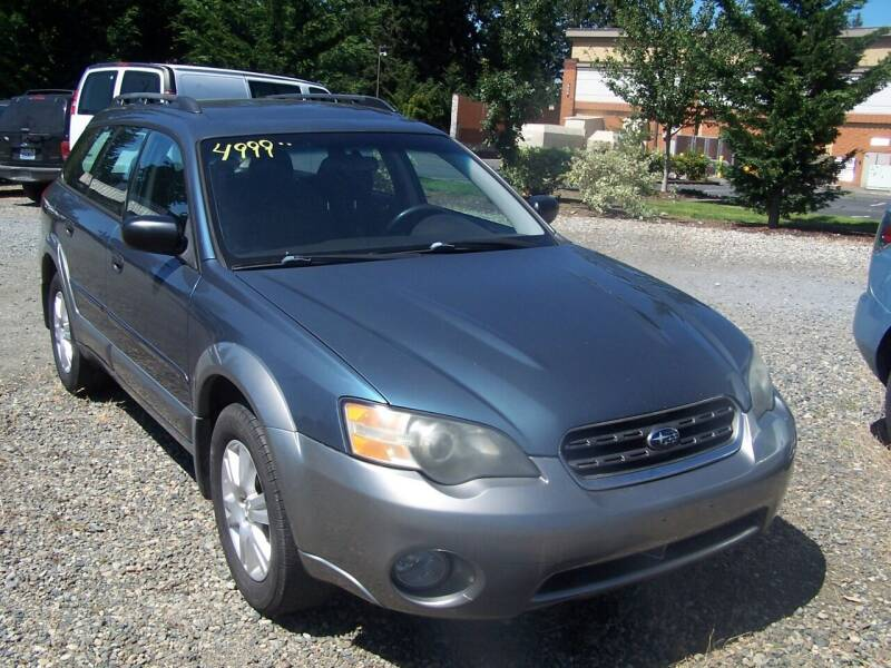 2005 Subaru Outback for sale at M & M Auto Sales LLc in Olympia WA