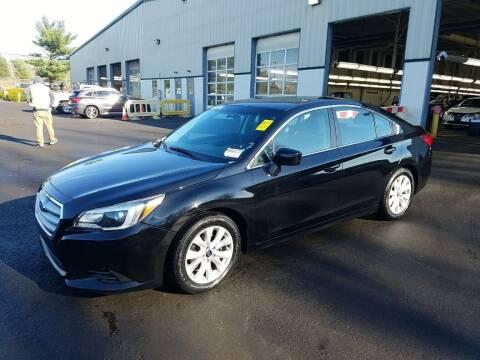 2016 Subaru Legacy for sale at Riverside Auto Sales & Service in Portland ME