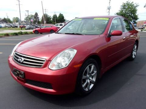 2006 Infiniti G35 for sale at Ideal Auto Sales, Inc. in Waukesha WI