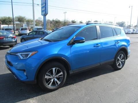 2018 Toyota RAV4 for sale at Blue Book Cars in Sanford FL
