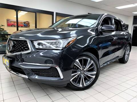 2019 Acura MDX for sale at SAINT CHARLES MOTORCARS in Saint Charles IL