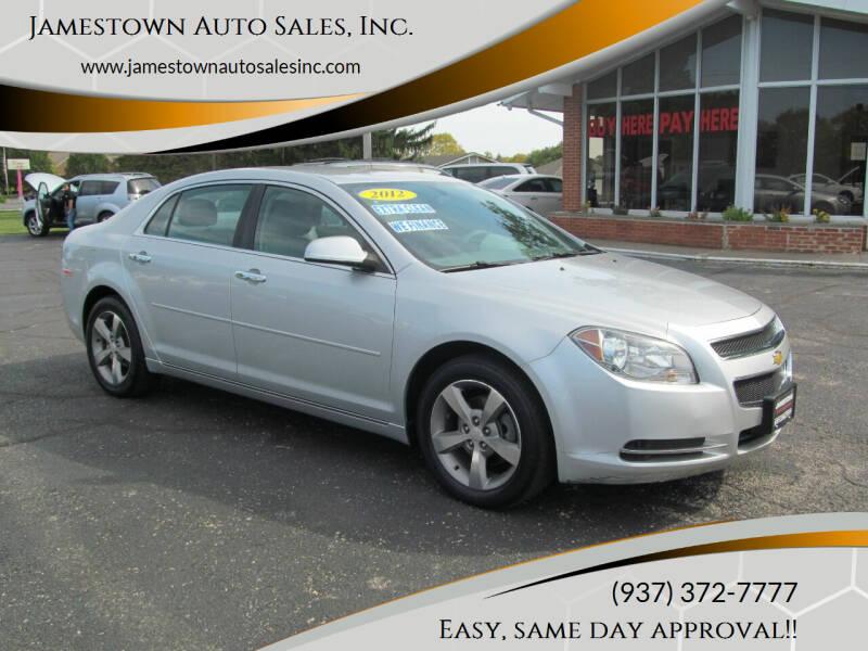 2012 Chevrolet Malibu for sale at Jamestown Auto Sales, Inc. in Xenia OH