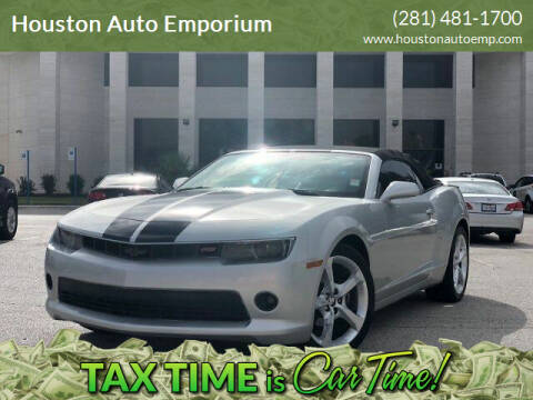 2015 Chevrolet Camaro for sale at Houston Auto Emporium in Houston TX
