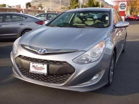 2015 Hyundai Sonata Hybrid for sale at McCarthy Wholesale in San Luis Obispo CA