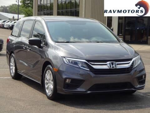 2019 Honda Odyssey for sale at RAVMOTORS 2 in Crystal MN