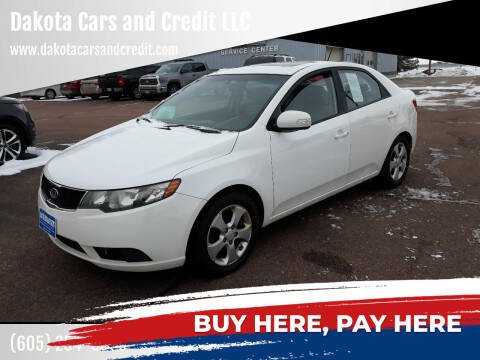 2010 Kia Forte for sale at Dakota Cars and Credit LLC in Sioux Falls SD