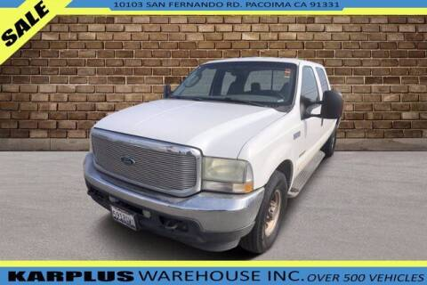 2004 Ford F-250 Super Duty for sale at Karplus Warehouse in Pacoima CA