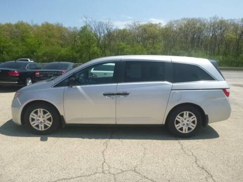 2013 Honda Odyssey for sale at NEW RIDE INC in Evanston IL