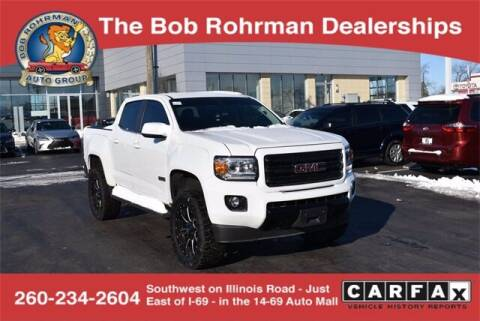 2019 GMC Canyon for sale at BOB ROHRMAN FORT WAYNE TOYOTA in Fort Wayne IN