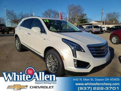 2017 Cadillac XT5 for sale at WHITE-ALLEN CHEVROLET in Dayton OH